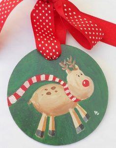 Love this cute reindeer.