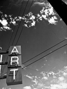 #art #sign #sky #blackandwhite
