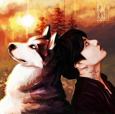 Jungkook shared by Maria Vi🌺🍃 on We Heart It Chibi, Drawings, Bts Drawings, Art, Anime, Vampire, Fan Art