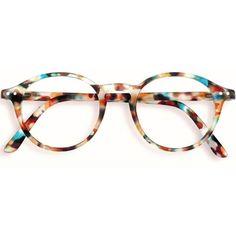 38d0b50ff16 Stylish Izipizi Blue Tortoise Shell Rounded Reading Glasses ( 32) ❤ liked  on Polyvore featuring. Round Tortoiseshell ...