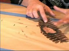 How to Paint Feathers with Acrylics : How to Work Feathers for an Acrylic Painting