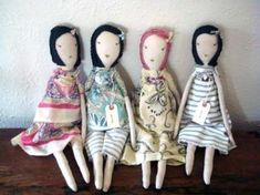 Jess Brown dolls.  I think these are just great.  At $180 per doll, it looks like I will be working out my own pattern.  Sigh...