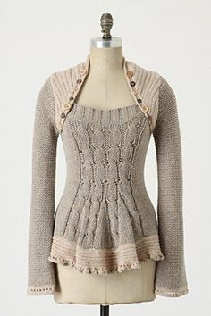 sweater refashion inspiration