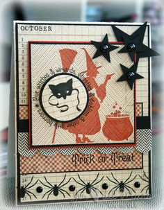 Bewitching Card - I love to Stamp