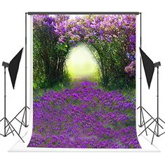 Magic Green Spring Forest Photography Backdrops Seamless Purple Flowers Photo Backgrounds for Children Studio Props Picture Backdrops, Video Backdrops, Photo Booth Backdrop, Spring Photography, Forest Photography, Purple Flower Photos, Purple Flowers, Easter Backdrops, Beach Backdrop
