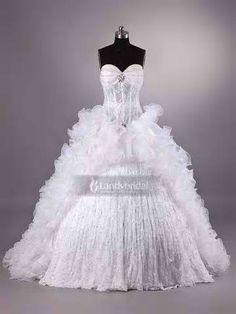 Beautiful My Big Fat Gypsy Wedding Dress Custom Made American