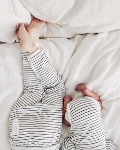 Cutie kids in stripes