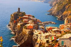 Yes... you can reach beautiful Vernazza on the train! Cinque terre from florence