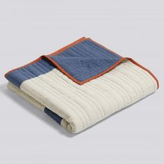 HAY Mondrian Thunder Quilt Throw: Designed by duo 'All The Way To Paris' for HAY, these supersized throws are hand made in India, and the graphic and geometric shapes bring a traditional quilt right up to date.
