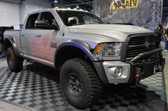 AEV Ram Concept is an aftermarket Power Wagon