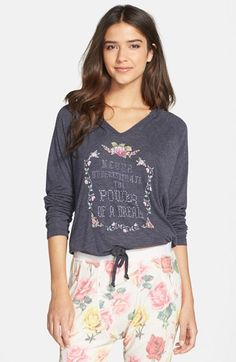 Free shipping and returns on Wildfox 'Hang Out - Power of a Dream' Hoodie at Nordstrom.com. Energize your dreams with this needlepoint-inspired graphic pullover cut from a soft blend. Long sleeves and a drawcord encourage Wildfox's signature slouchy shape.