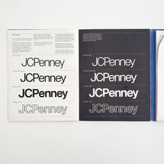 It's #ManualsMonday! Every Monday we share a #StandardsManual from the #archives! Unimark International's Chicago office won the contract to give JCPenney a new look in the late 1960s. Led by Jay Doblin, the design team included Heinz Waibl, Philip Seefeld, Steve Dunn, David Law, Harry Boller, and Dale Fahnstrom.  Today's manual is the interim manual created by Unimark which provided the foundation for their corporate identity program. Brand Guidelines, Corporate Identity, Jay, 1960s, Manual, Foundation, Chicago, David, Cards Against Humanity