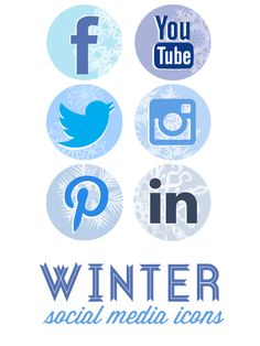 Download this free #Social Media icon set just for you. Use it on your blog, your website, and anything else you feel could use some winter gear.