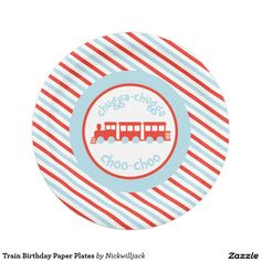 Train Birthday Paper Plates  sc 1 st  Pinterest & Road Sign Railroad Road Crossing Paper Plate | 2nd Birthday ideas ...