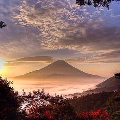 by Peter Gordon Beautiful Sunset, Beautiful Places, Beautiful Scenery, Fuji Mountain, Earth View, Japanese Photography, Japanese Landscape, Mount Fuji, Nature Paintings