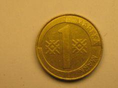 1 markka 1994, R110
