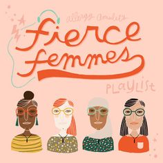 To close out the month of March, we made you an album: Fierce Femmes! This month at the Allergy Amulet HQ, we've profiled other #ladyboss entrepreneurs, discussed the gender funding gap, and added more woman power to our team! What better way to end the month than with a curated list of some of our favorite female artists of late (and some classics)!