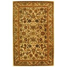 Shop for Safavieh Handmade Heritage Ivory Wool Rug (4' x 6'). Get free shipping at Overstock.com - Your Online Home Decor Outlet Store!…