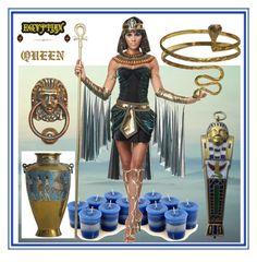 #Theme_E: Egypt by amisha73 on Polyvore featuring moda, Urbiana and Cinque