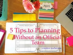 5 Simple Tips to Plan Lessons (Without an Official Team