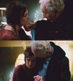 """""""She has new appreciation for her life.""""  ~  """"It works, it's real, he helped me."""" ... Jigsaw, John Kramer, Amanda Young, Tobin Bell, Shawnee Smith, Saw 2, Saw II"""