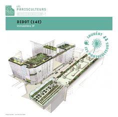 Paris anuncia 33 projetos para criar 100 hectares de coberturas e fachadas verdes