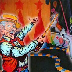 Inside Circus Golf In Blacklight 3D - in Gatlinburg, Tennessee