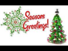 Øvelse: mini juletræ af perler / Lektion: mini sildeben perle