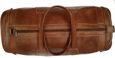 Large moroccan leather bag  genuine leather bag  by MoroccoTouch