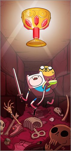Adventure Time w/ Finn & Jake!!