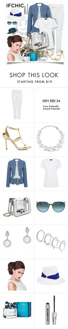 """Getting ready for Summer with Ifchic!"" by mediteran ❤ liked on Polyvore featuring IRO, Myne, Dee Keller, DIANA BROUSSARD, Theory, Mohzy, Fallon, Eugenia Kim, Tommy Hilfiger and Bare Escentuals"