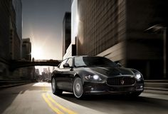 The Maserati Quattroporte Sport GTS comes fully equipped with the MC Auto Shift Software Package that allows drivers to experience racing style gear changes. A litre engine speeds the car from zero to 60 mph in seconds and is a true performer. Maserati Models, Maserati Car, Luxury Car Hire, Luxury Cars, Cheap Sports Cars, Maserati Quattroporte, Car Hd, Car Images, Car Wallpapers