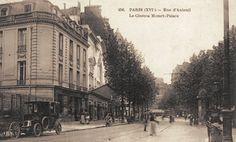 rue d'Auteuil - Paris 16ème Palace, Paris 1900, Mozart, Kingfisher, Beautiful Architecture, 19th Century, Nostalgia, Street View, France