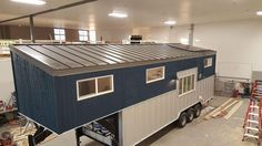 This Is A 28 Gooseneck Trailer Tiny House On Wheels It Was Just Built