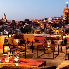 Luna Rooftop Tapas Bar, San Miguel de Allende, Mexico: Architectural Digest