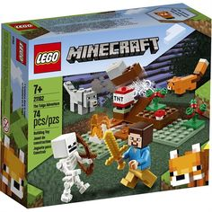 Lego Minecraft, Cool Minecraft Houses, Minecraft Crafts, Minecraft Buildings, Shop Lego, Buy Lego, Building Toys For Kids, Lego Building, Toys Uk