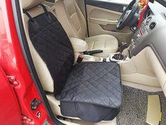 PinShang Simple Comfortable Car Front Cushion Non-slip Breathable Car Cushion black