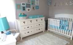 7 Bold and Beautiful Chevron Inspired Nurseries