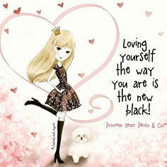 Loving yourself the way you are is the new black! ~ Princess Sassy Pants & Co Sassy Quotes, Cute Quotes, Girl Quotes, Sassy Sayings, Quirky Quotes, I Love Girls, Love You, Sweet Girls, Princess Quotes