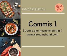 Commis I Job Description / Range Chef Job Description Chef Job Description, Product Description, Teamwork Skills, Chef Jobs, Restaurant Consulting, Food Cost, I Chef, Executive Chef, Food Menu