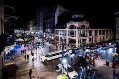 Łódź by night - photo - rozentuzjazmowany photography