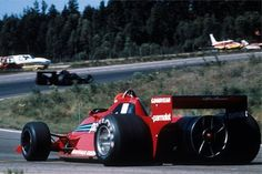 "1978 Brabham BT46 ""Fan Car"" designed by Gordon Murray. Alfa Romeo 2,995 cc (182.8 cu in) flat 12, normally aspirated. ~520 bhp at 12,000 rpm. Niki Lauda won the 1978 Swedish Grand Prix in this car, the only race was used in before it was banned by the FIA."