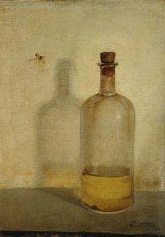 Jan Mankes (Meppel 1889-1920 Eerbeek) Oilbottle - Dutch Art Gallery Simonis and Buunk Ede, Netherlands.