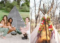 "Camping Bachelorette Party Ideas You might be thinking, camping?! For my bachelorette party?! I know, I know, not all girls are into camping, but glamping, short for ""glamorous camping"" is really another story. This does not have to be roughing it in the woods with one roll of toilet paper (unless that's your kind of …"