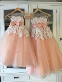 Vintage Little Flower Girls Dresses Peach Sweetheart Sleeveless Lace Appliques Sheer Neckline First Communion Dresses Girls Party Gowns - flower girl dress - Shoes Peach Flower Girl Dress, Flower Girl Shoes, Tulle Flower Girl, Wedding Flower Girl Dresses, Wedding Dresses, Toddler Girl Dresses, Little Girl Dresses, Girls Dresses, Peach Dresses