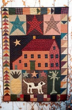 """Somebody's Home"" Quilt Pattern"