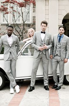 Tie the knot in style. Grooms get a free made to measure suit when his groom party of four (or more) suit up with @Indochino.