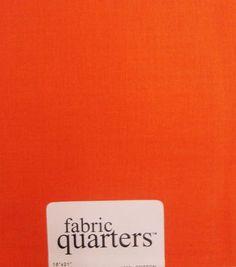 Fabric-Quarters Cotton Fabric-Solids Rust