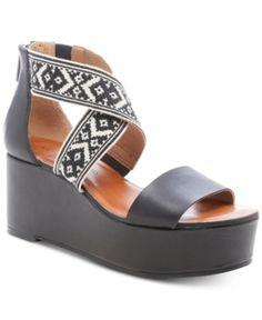 58dd933f609 Lucky Brand Women s Trisa Wood Sandals - Tan Beige 8.5M in 2019 ...