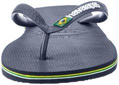 Amazon.com: Havaianas Men's Brazil Flip Flop: Clothing